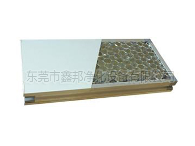 Aluminum honeycomb sandwich panels